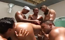 Bachelor Party Gangbang!
