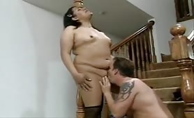 BBW Shemale's Perk Up Sex!