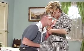 50's Tranny Mommy Horny For Daddy!