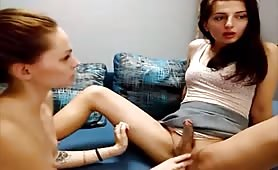 Tranny Vica With Girl Mila!