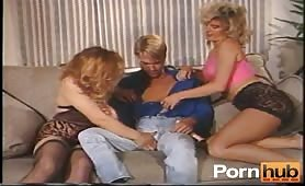 Threesome Get Together With Male, Female And Shemale.